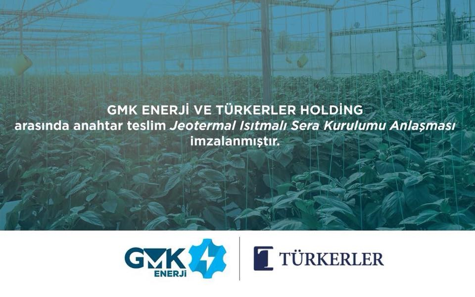 Agreement between GMK Energy and Türkerler Holding